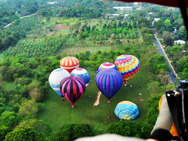 hot air balloon sri lanka